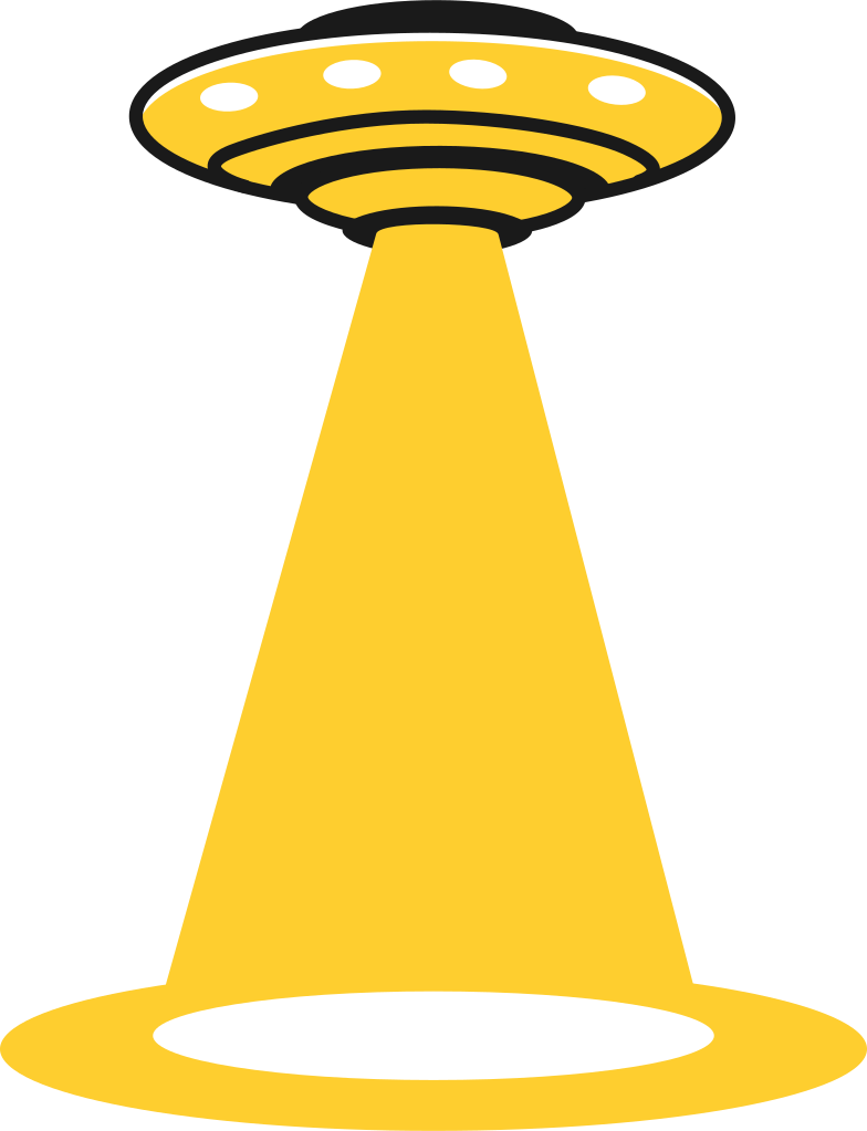 ufo small Clipart illustration in PNG, SVG