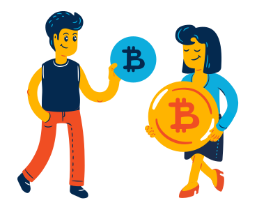 style Bitcoin P2P images in PNG and SVG | Icons8 Illustrations