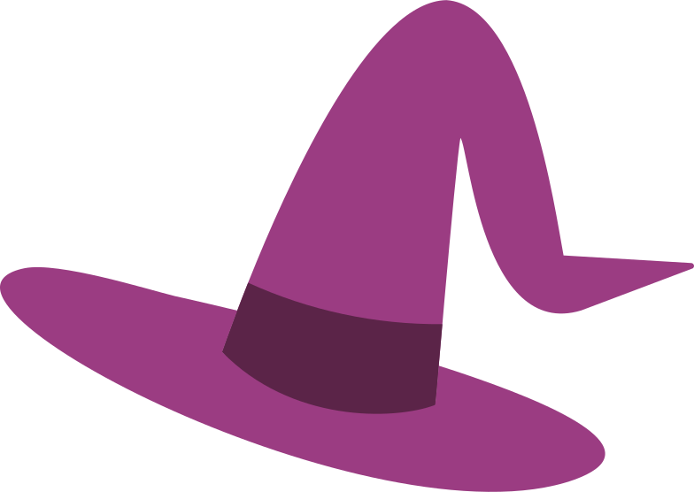 style witch's hat Vector images in PNG and SVG | Icons8 Illustrations