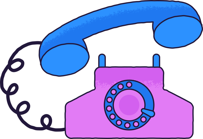 old telephone Clipart illustration in PNG, SVG