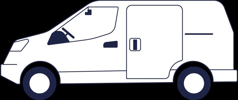 van Clipart illustration in PNG, SVG