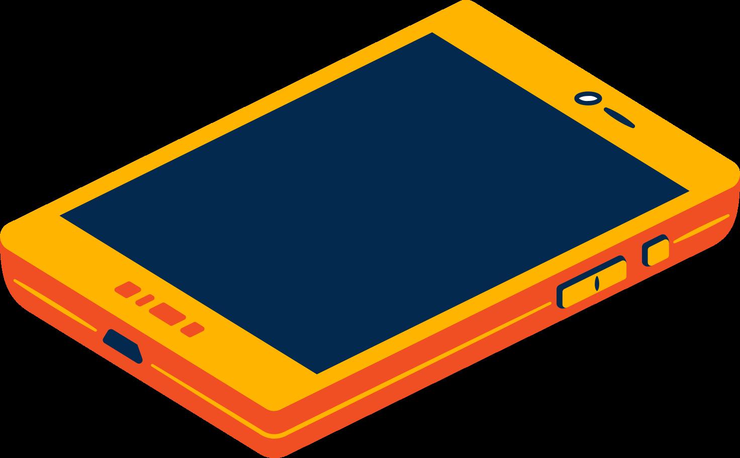 smartphone Clipart illustration in PNG, SVG