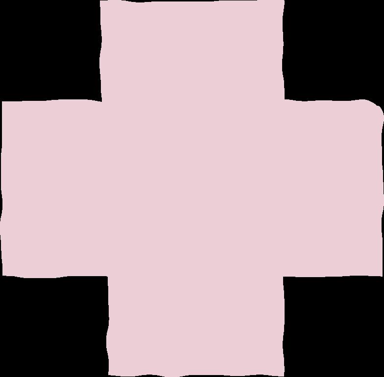 cross pink Clipart illustration in PNG, SVG