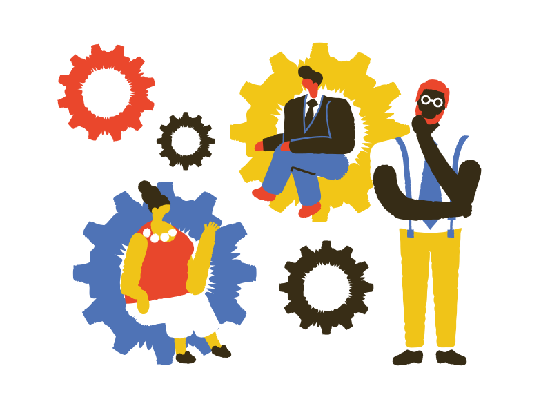 Negotiation Clipart illustration in PNG, SVG