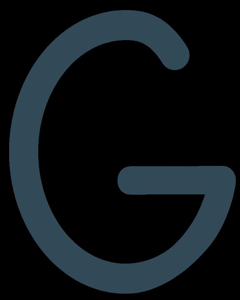 g dark blue Clipart illustration in PNG, SVG