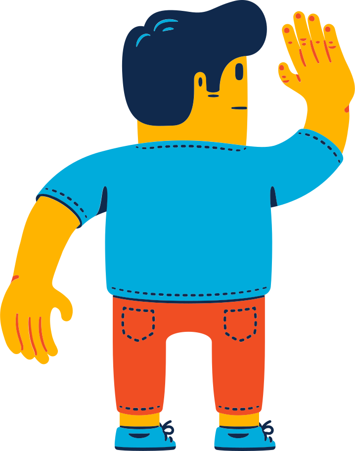 style man waving Vector images in PNG and SVG | Icons8 Illustrations