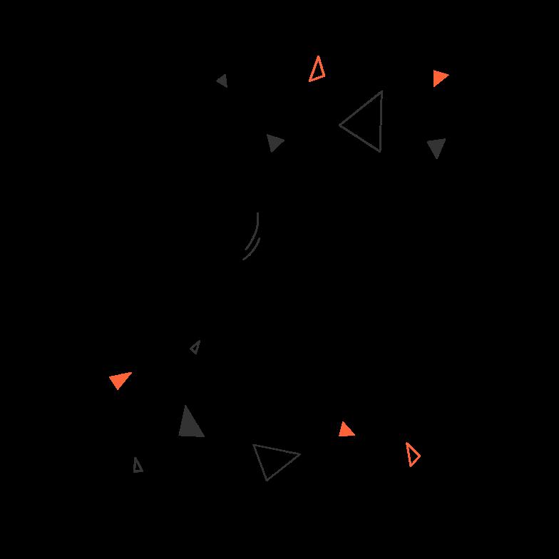 Deadline set Clipart illustration in PNG, SVG