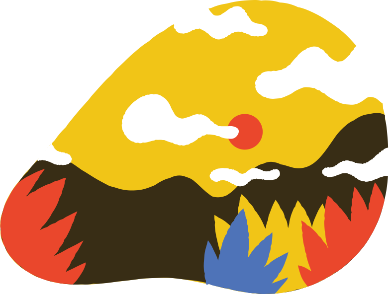 mountains Clipart illustration in PNG, SVG