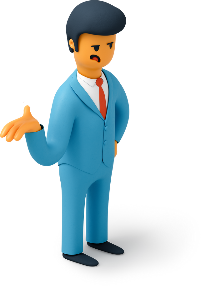 man question Clipart illustration in PNG, SVG