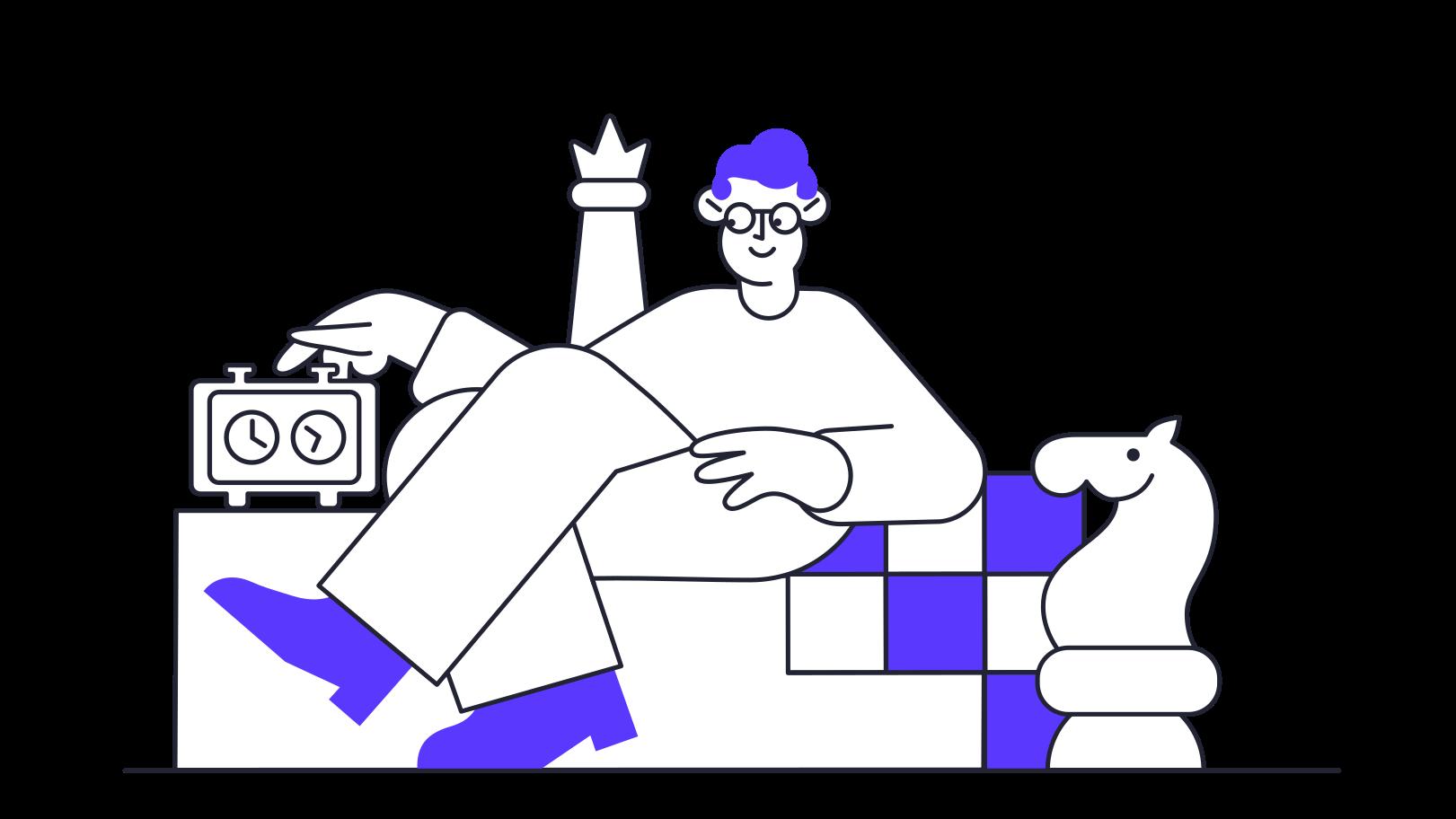 Ilustración de clipart de Ajedrez en PNG, SVG