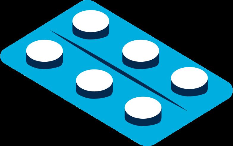 tablet  packaging Clipart illustration in PNG, SVG