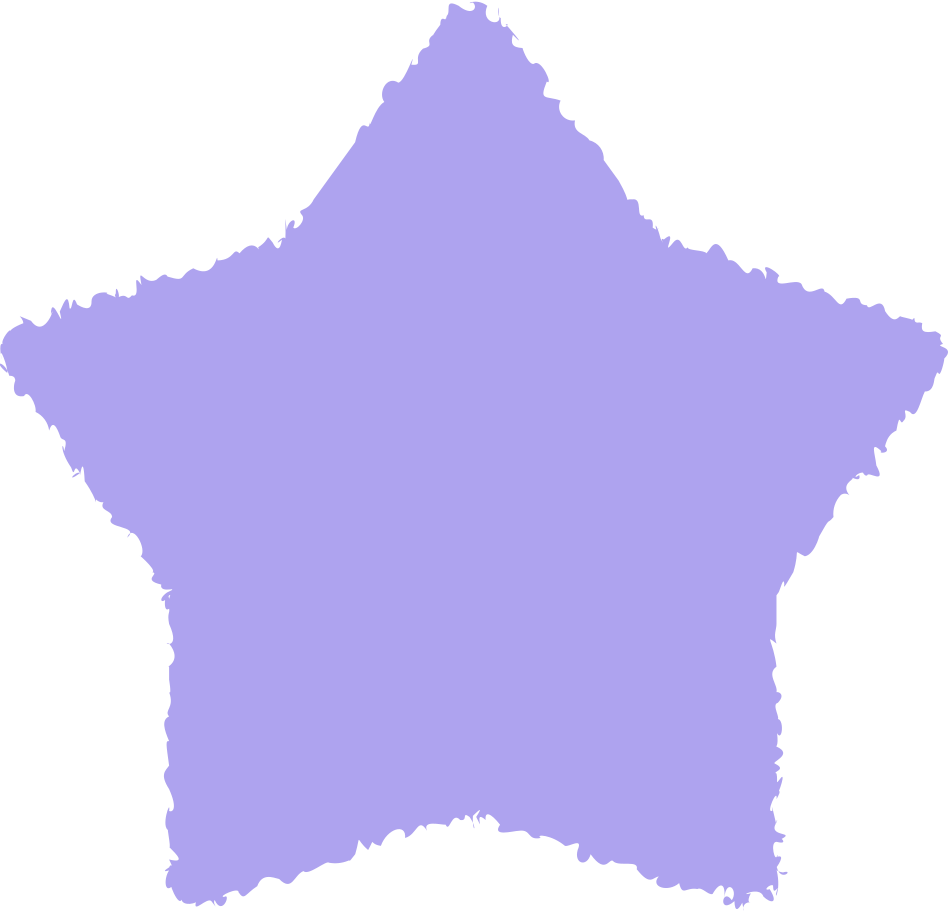 star purple Clipart illustration in PNG, SVG