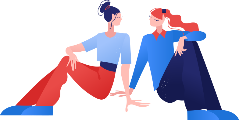 friends Clipart illustration in PNG, SVG