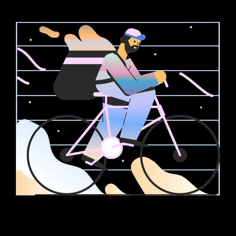 Ilustración de clipart de entrega en PNG, SVG