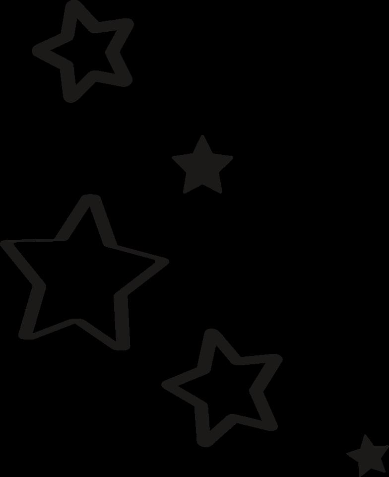 Imágenes vectoriales cinco estrellas en PNG y SVG estilo  | Ilustraciones Icons8