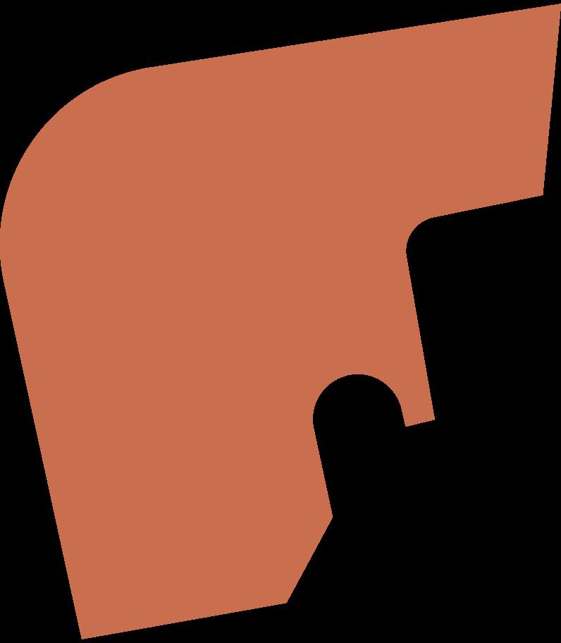 Ilustración de clipart de Pelo corto y afilado hacia atrás en PNG, SVG