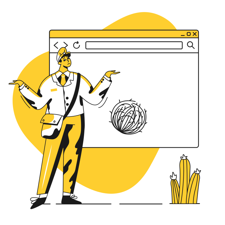 style Page not found Vector images in PNG and SVG | Icons8 Illustrations