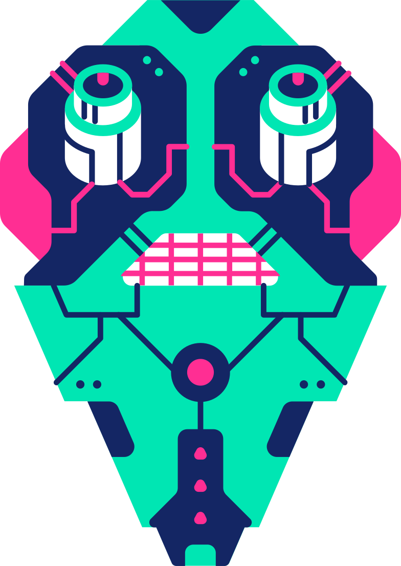 Imágenes vectoriales cara robot en PNG y SVG estilo  | Ilustraciones Icons8