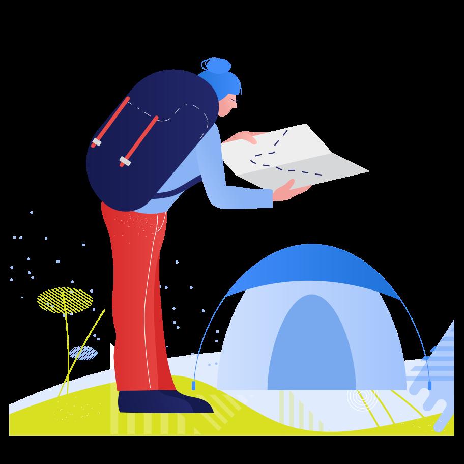Tourism Clipart illustration in PNG, SVG