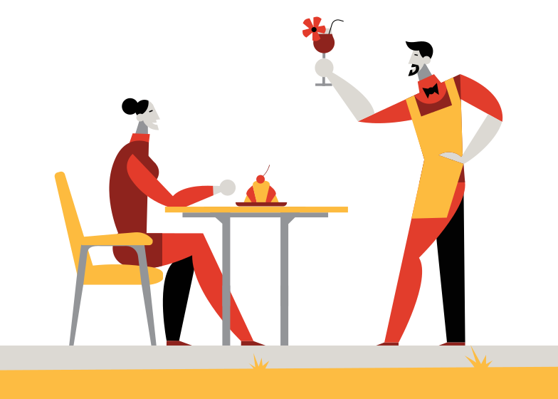 Cafe Clipart illustration in PNG, SVG