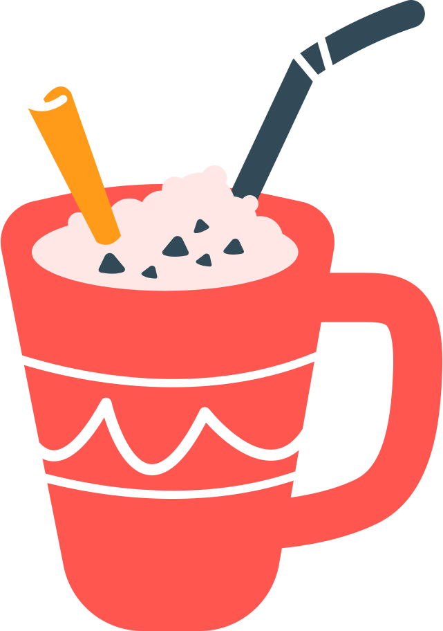 christmas drink Clipart illustration in PNG, SVG
