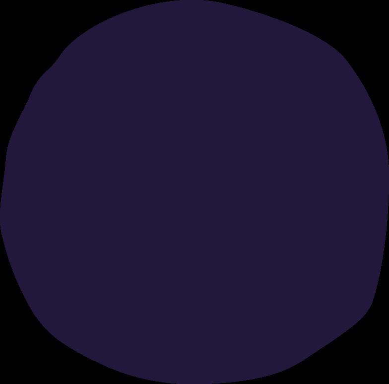 hair-bun- Clipart illustration in PNG, SVG