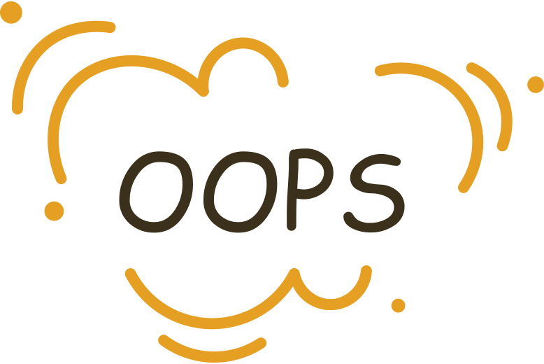 oops Clipart illustration in PNG, SVG