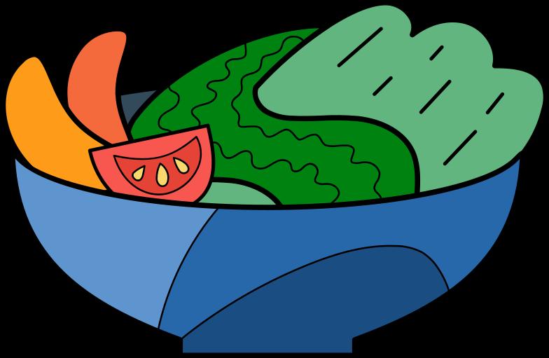 PNGとSVGの  スタイルの 野菜サラダ ベクターイメージ | Icons8 イラスト