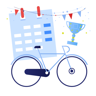 style Victory in a bicycle race images in PNG and SVG | Icons8 Illustrations