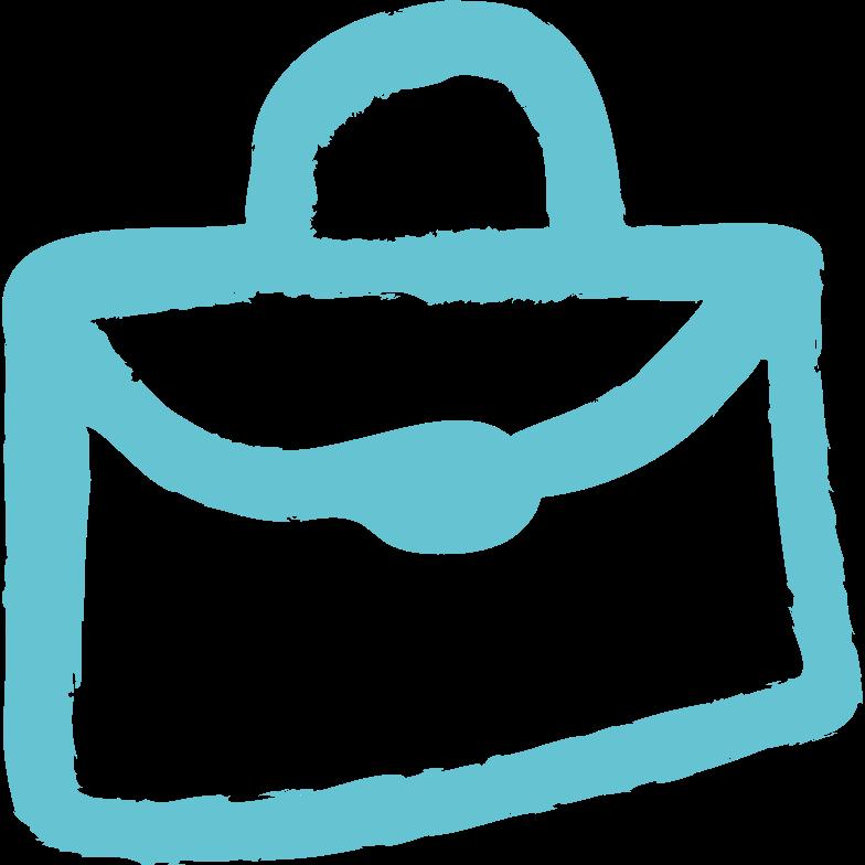 brief-bag Clipart illustration in PNG, SVG