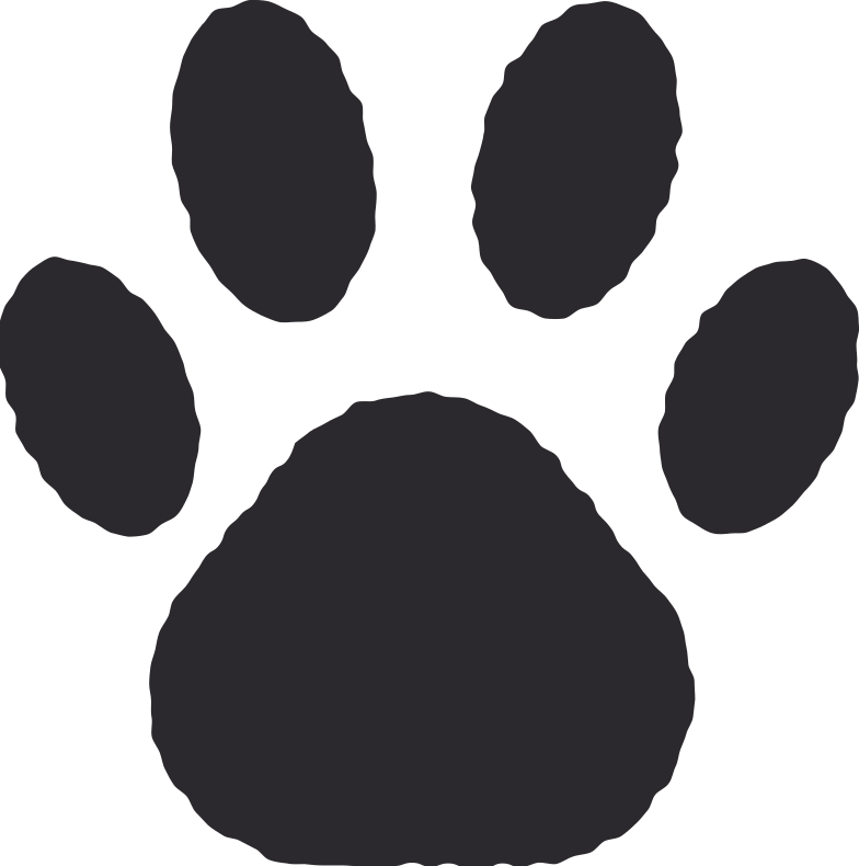 paw print Clipart illustration in PNG, SVG