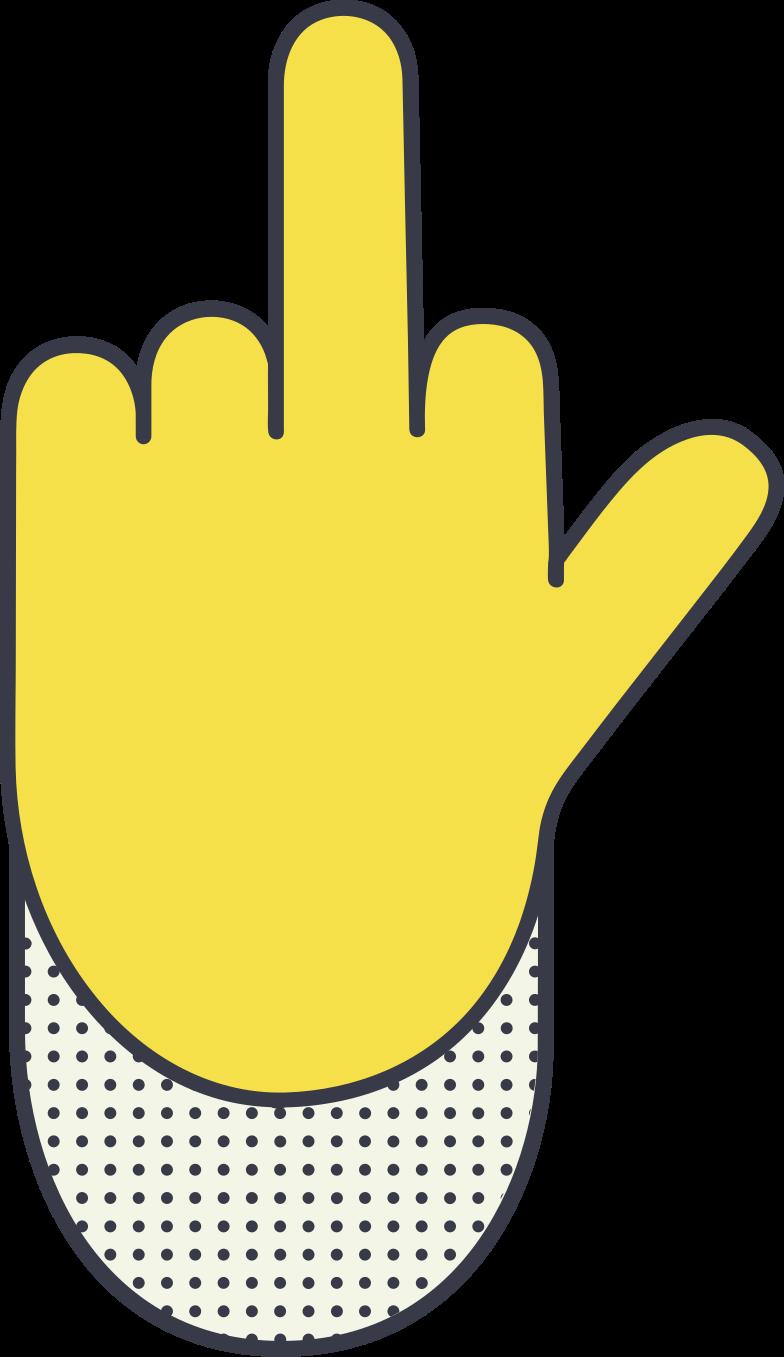 PNGとSVGの  スタイルの 中指 ベクターイメージ | Icons8 イラスト