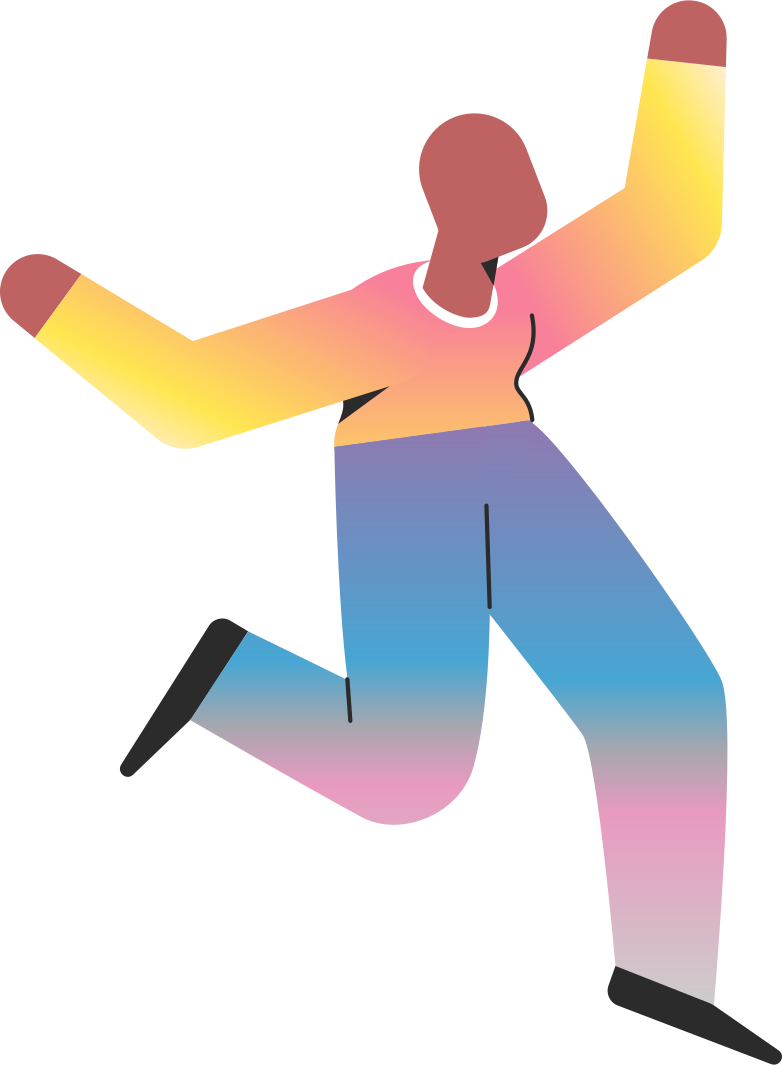 old jumping Clipart illustration in PNG, SVG