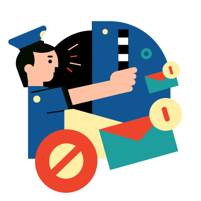 style Stop spam images in PNG and SVG | Icons8 Illustrations