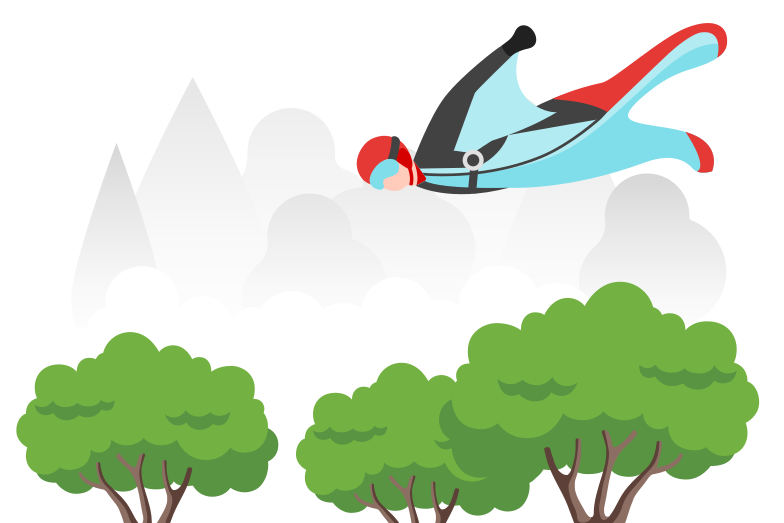 style Wingsuit Vector images in PNG and SVG | Icons8 Illustrations