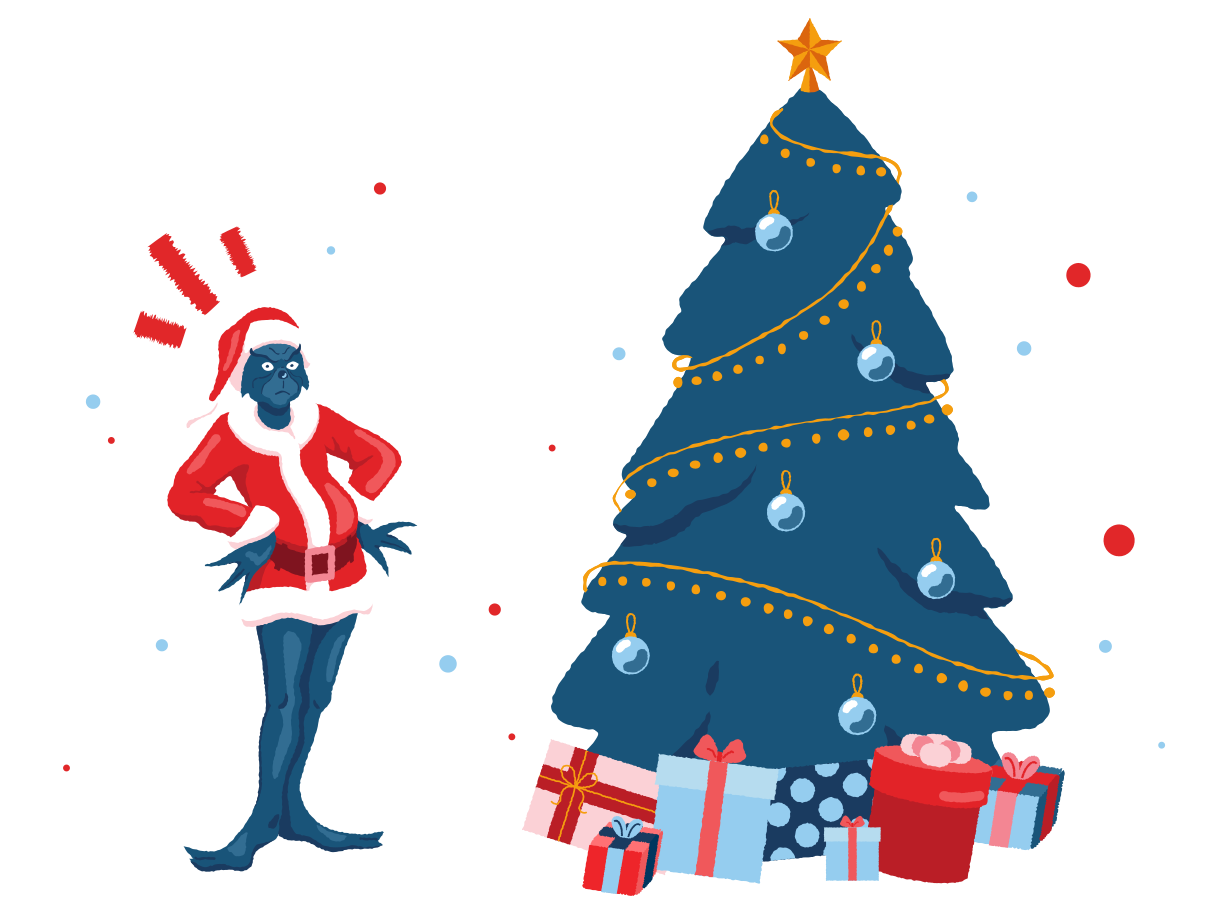 style Grinch and Christmas Vector images in PNG and SVG | Icons8 Illustrations
