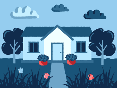 style House landscape images in PNG and SVG | Icons8 Illustrations