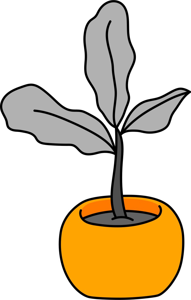 style flower in a pot Vector images in PNG and SVG | Icons8 Illustrations