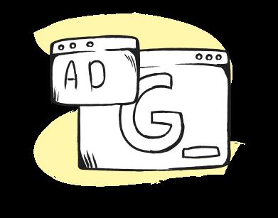 Иллюстрация seo объявления в google в стиле  в PNG и SVG | Icons8 Иллюстрации