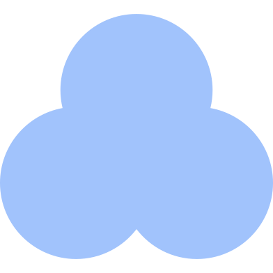 style trefoil blue images in PNG and SVG | Icons8 Illustrations