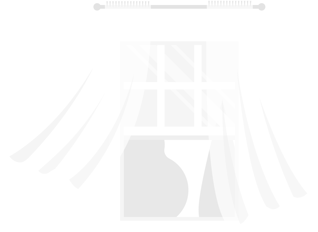 window curtain waving Clipart illustration in PNG, SVG