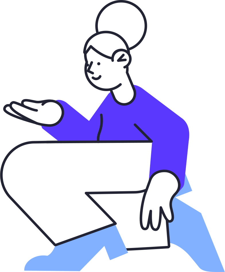 online shopping  woman Clipart illustration in PNG, SVG
