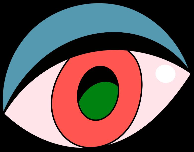 bad gateway  eye Clipart illustration in PNG, SVG