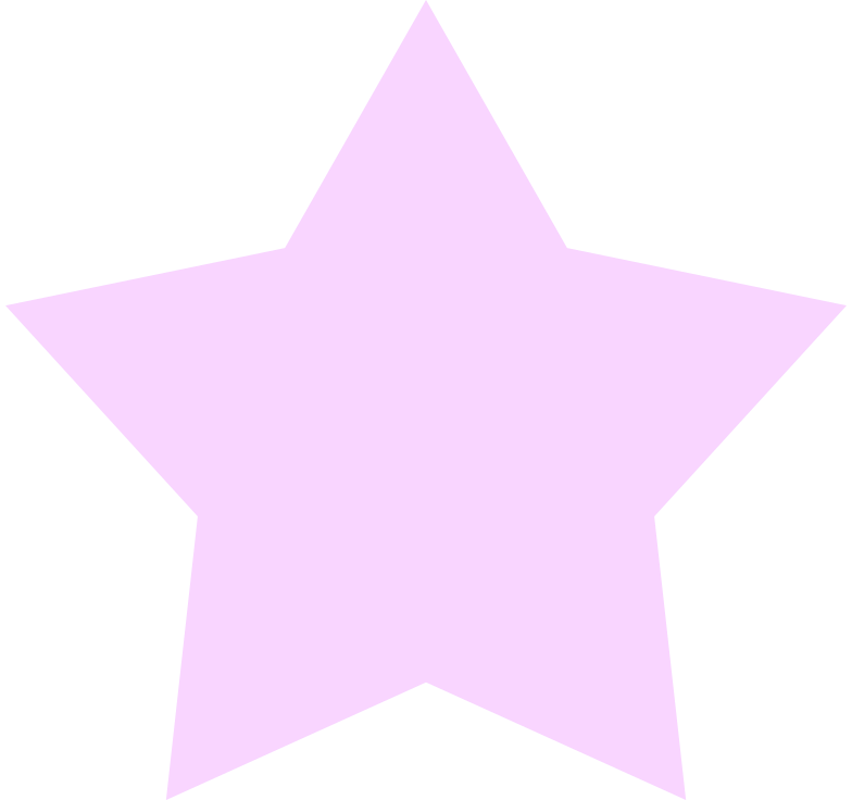 star pink Clipart illustration in PNG, SVG