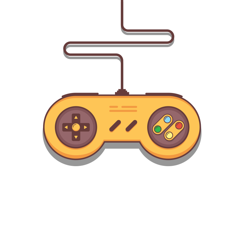 style Super Nintendo gamepad Vector images in PNG and SVG | Icons8 Illustrations