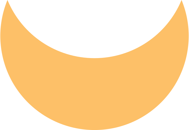 style crescent orange Vector images in PNG and SVG | Icons8 Illustrations