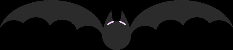 bat Clipart illustration in PNG, SVG