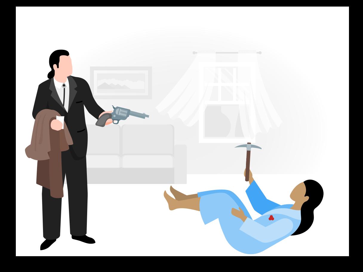 Ilustración de clipart de Asesinato en PNG, SVG