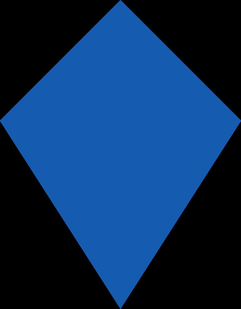 kite-blue Clipart illustration in PNG, SVG