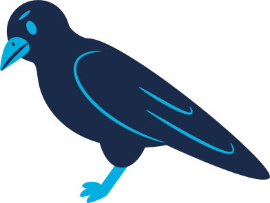 style raven calm images in PNG and SVG | Icons8 Illustrations
